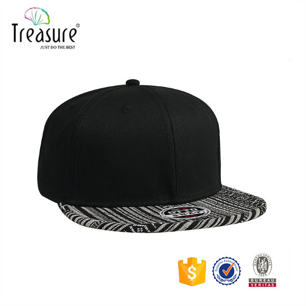 2016 new products fashion sports cap closed back closure snapback hat