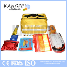 2017 New Arrival KF72 Nylon Fabric Roadside first aid kit car emergency kit