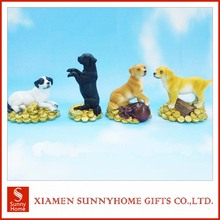 High quality resin animal dog figurines wholesale