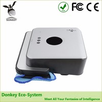 intelligent floor mopping robot wet and dry with gps navigation