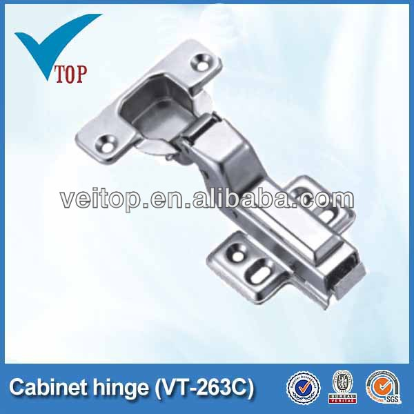 Iron furniture cabinet hinge hasp and staple