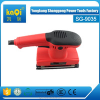 kaqi No Variable Speed and Electricity Sander Power Source 185*93mm band width horizontal belt sander
