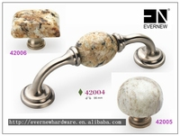 New Zamak kitchen cabinet handle Marble handle