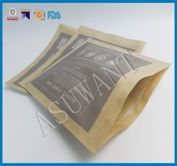 manufacturer kraft paper bags for charcoal or food ,cement packing kraft paper bag