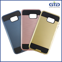 [NP-2628] Clear View Cover for Samsung for Galaxy S6 Edge Plus Hard Back Case Wholesale