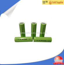 High quality 1.2v nimh aa 1200mah battery rechargeable batteries manufacturer