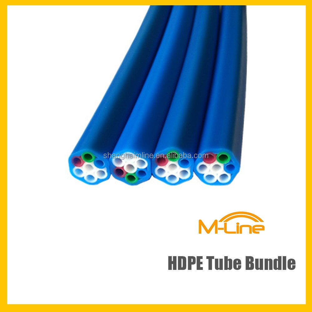 High Quality 7-ways Tube Bundle 5/3.5mm Direct Installed HDPE Micro Duct