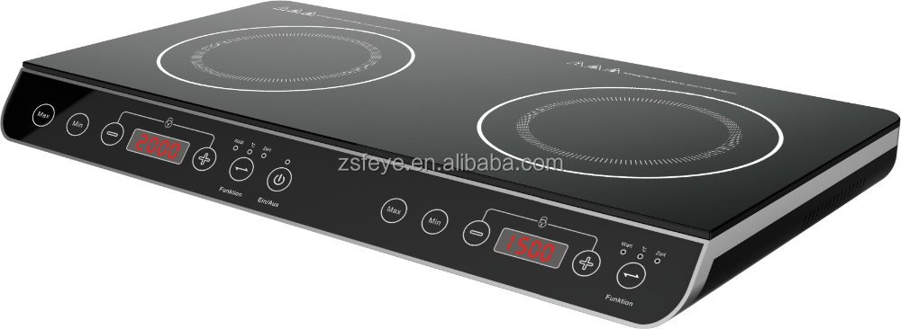 New design Double Burner Electric Induction Cooker & Infrared Cooker hot selling double induction cooker/ induction stove