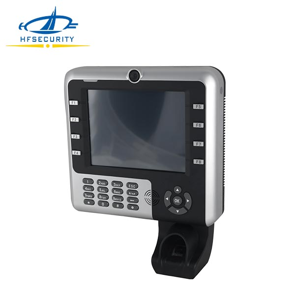 HF-Iclock2500 8 Inches Touch Screen USB Realand Fingerprint and Attendance System