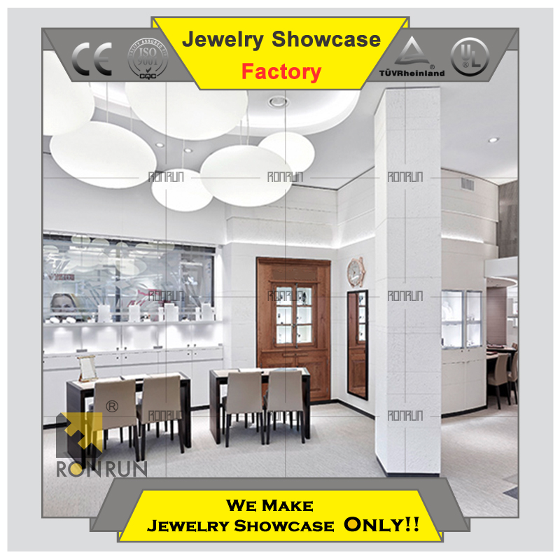Hot 2015 modern jewelry display showcase store counter furniture for jewellery and diamond store