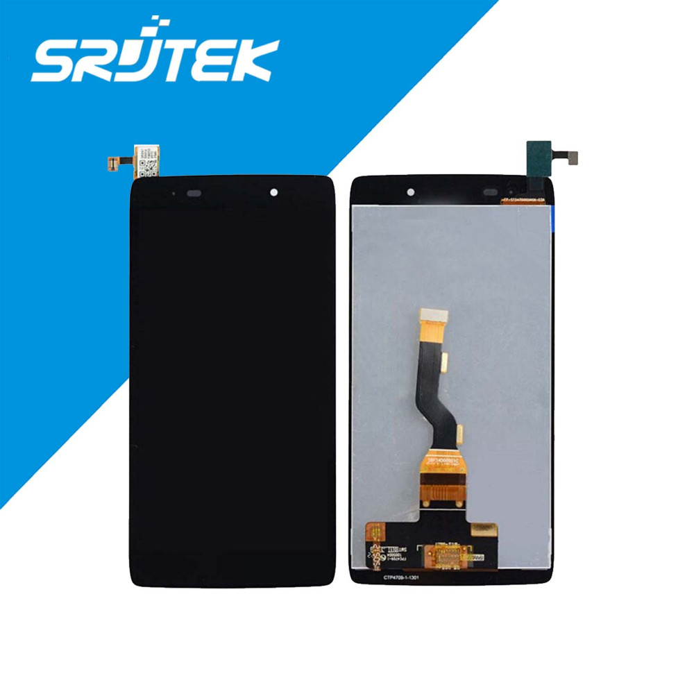 For Alcatel One Touch Idol 3 OT6039 6039 6039A 6039K 6039Y LCD Display with Touch Screen Digitizer Assemblely Black