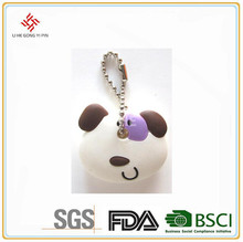 Animal pattern silicone key cover
