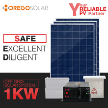 Moregosolar 5kw 3kw 2kw 1kw off grid solar system home with latest 6BB solar power panel