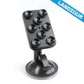 Mobile phone holder for car, double suction cup phone holder mount