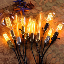 4W E27 Filament Light Bulb Retro Industrial Style Edison Lamp ST64
