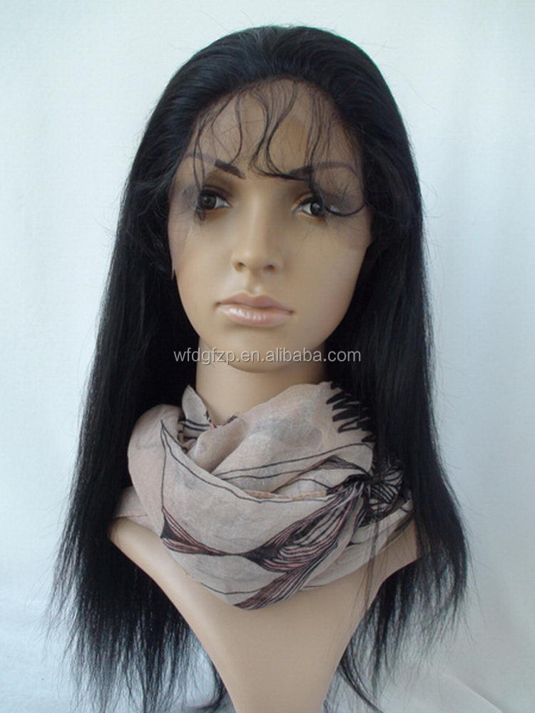 Customized top sell g brazilian human hair wig