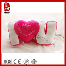 Decoration round chair cushions for lovers love pillow