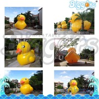 Giant Inflatable Advertising Cartoon Ducks Model Inflatable Yellow Duck