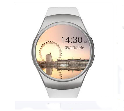 New KW18 Smart Watch Android/IOS Digital-watch Bluetooth Reloj Inteligente SIM Round Heart Rate Monitor Watch Clock