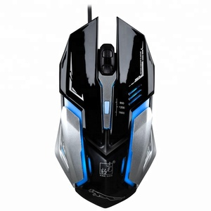 PC Computer 4D USB Optical Gaming Mouse 1600DPI with LED Lights