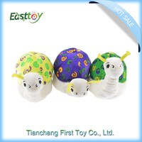 Fashion european customized stuffed toys,plush snail