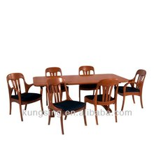 cheap 6 seaters wooden dining tables and chairs