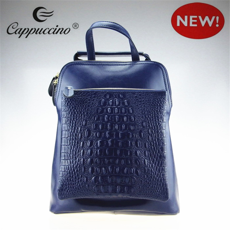 High Quality Hot Sale Durable Crocodile Grain Genuine Leather Handbag for Women