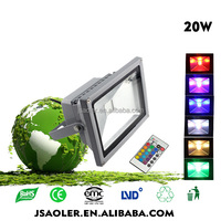 led light factory blue green red color outdoor led light multi-color led landscape light projector lamp