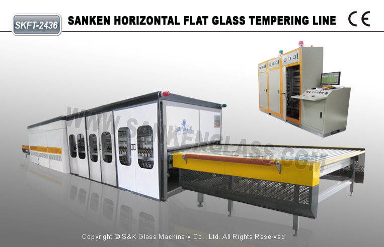 Glass Machine Toughened Glass Plant China Supplier