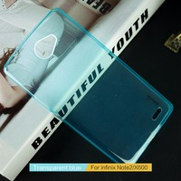 Soft Transparent Smartphone Case TPU Back Cover Case For Infinix Note2 X600