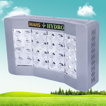2016 The Newest Mars Hydro Pro II Cree 128x 5w Chips LED Grow Light With Full Spectrum Hydroponics Indoor Lighting