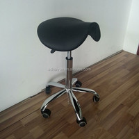 Adjustable ESD laboratory chair / Industrial Chair with chrome gas lift