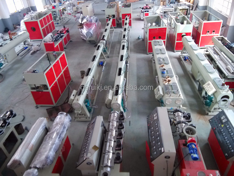 pp-r pipe machine/ppr hot and cold water pipe extrusion line