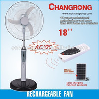 LED emergency light solar powered outdoor fans