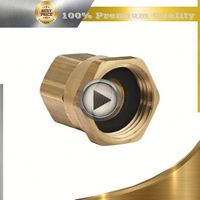"brass 1/4"" npt compression fittings"