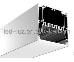 3 inches aluminum LED profile for pendent light with led supply inside