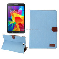 Cotton denim case, Flip stand with card slots for Galaxy TAB A9.7