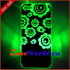 Newest flowers pattern Flash light led case for iphone 5C case for phone 5