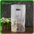 China factory price Milky tea po square gusset bag,die cut bag for packing beverage with logo printing