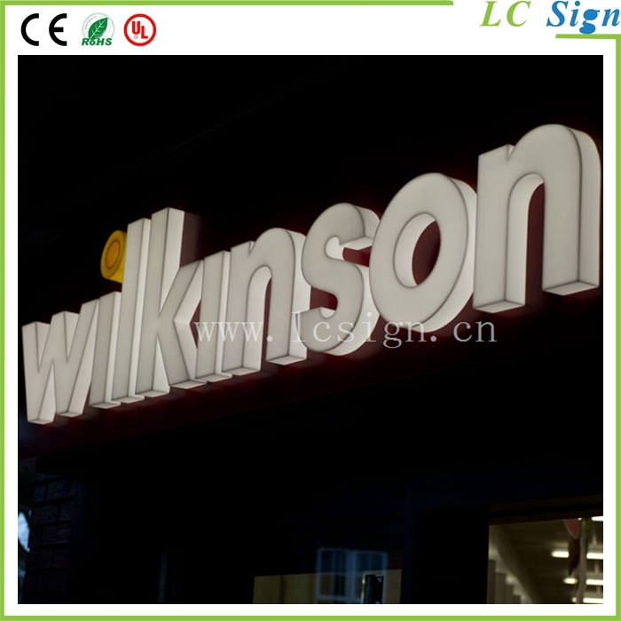 outdoor acrylic led alphabet letter write business letter