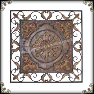 Shabby Chic wall art plaque kitchen metal