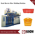 Plastic traffic barrier blow molding machine