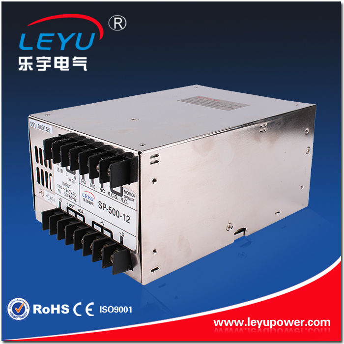 single output type 110v 220v input full range source adjustable 500w 15vdc SP-500-15 power supply solar regulated computer 32A