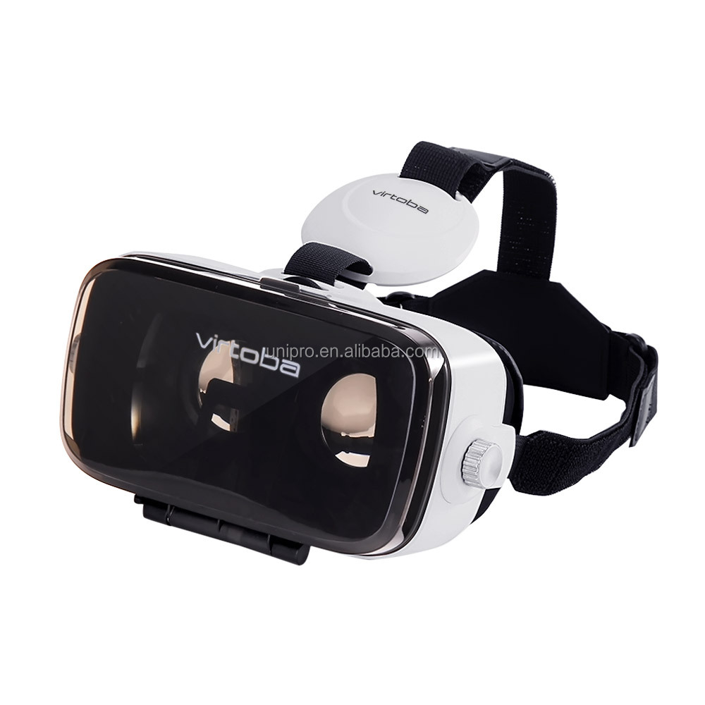 Virtoba X5 Elite Immersive 3D VR Virtual Reality Headset IPD Focus Adjustable 120FOV Movie <strong>Video</strong> 4-6 Inches Smartphones