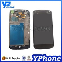factory price original lcd for lg nexus 4 e960 lcd screen replacement digitizer