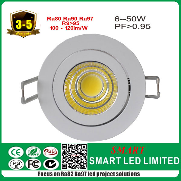 7w Cob led chip with best driver , wall recessed , CCT 2700K to 6500 <strong>K</strong> available!