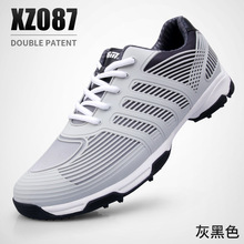 Gray water proof anti slip golf shoes honor tree grey golf sports shoes