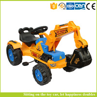 Children Toy Car for Kids to Drive Ride on Car Toy Excavator