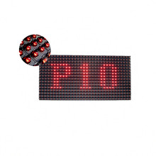 IP65 P10 Single Red Color Outdoor DIP546 LED Display Module