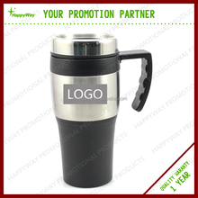 stainless steel auto cup coffee mug travel mugs with handle MOQ 100 PCS 0309016